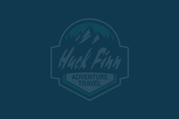 Huck finn sample logo