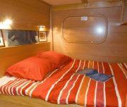 Huck Finn Catamaran cabin