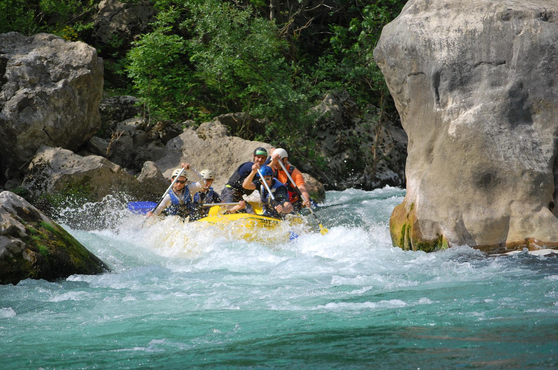 Cetina River Rafting tour