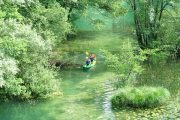 Clear Rivers Country kayaking in Croatia