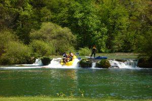 Mreznica rafting adventure trip Croatia