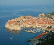 Dubrovnik view of old town 3