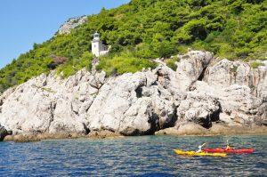 Elaphiti sea kayaking