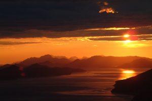 Elaphiti sunset view