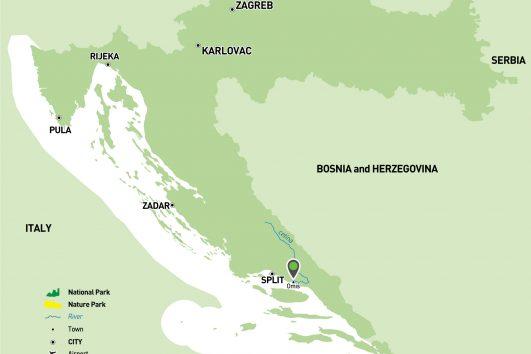 Cetina map
