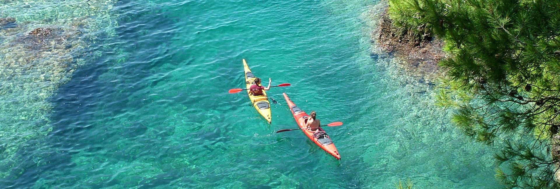 Rovinj Islands Sea Kayaking