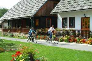 Korana Village Plitvice Cycling in Croatia