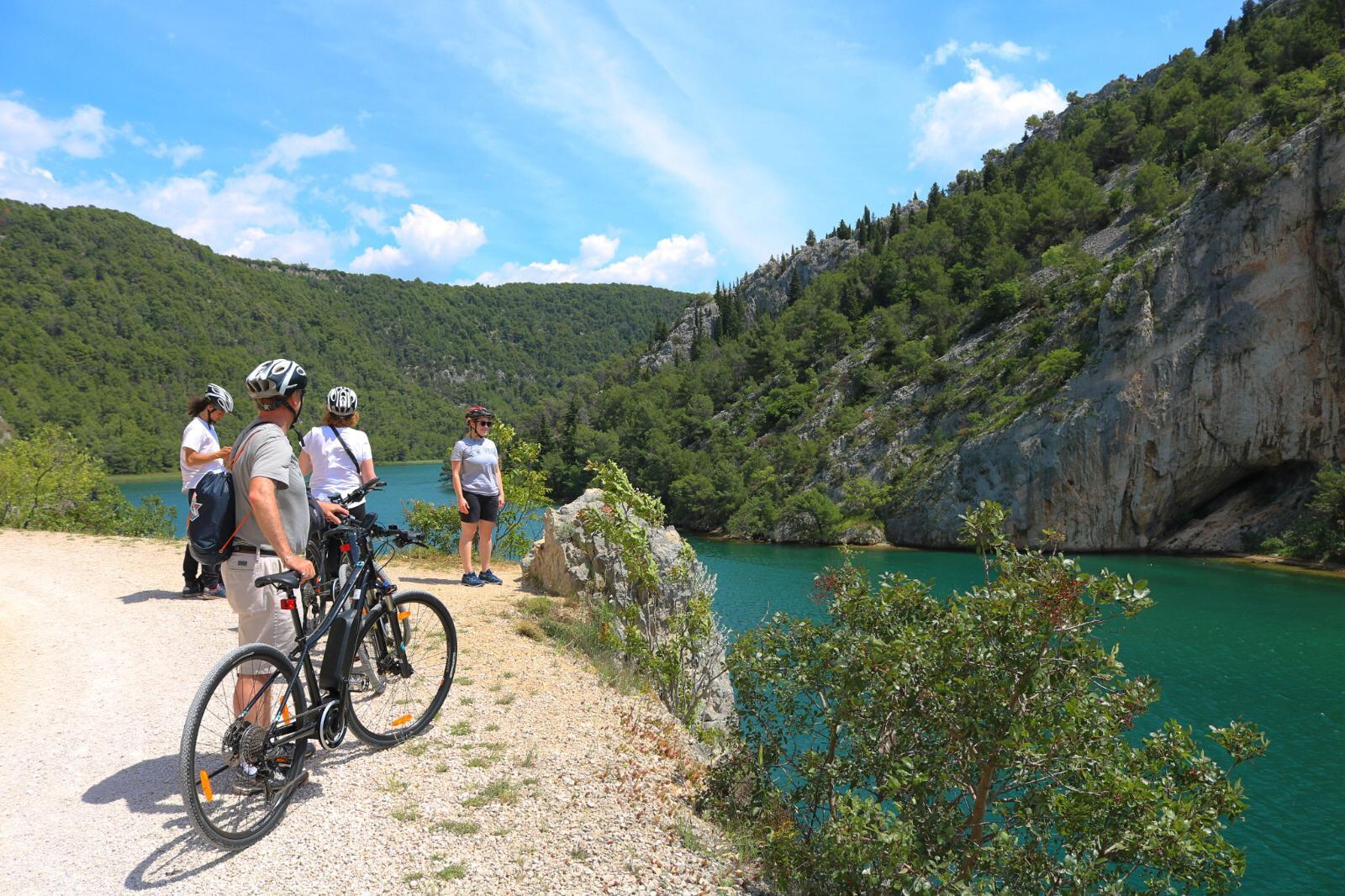 Krka National Park Cycling