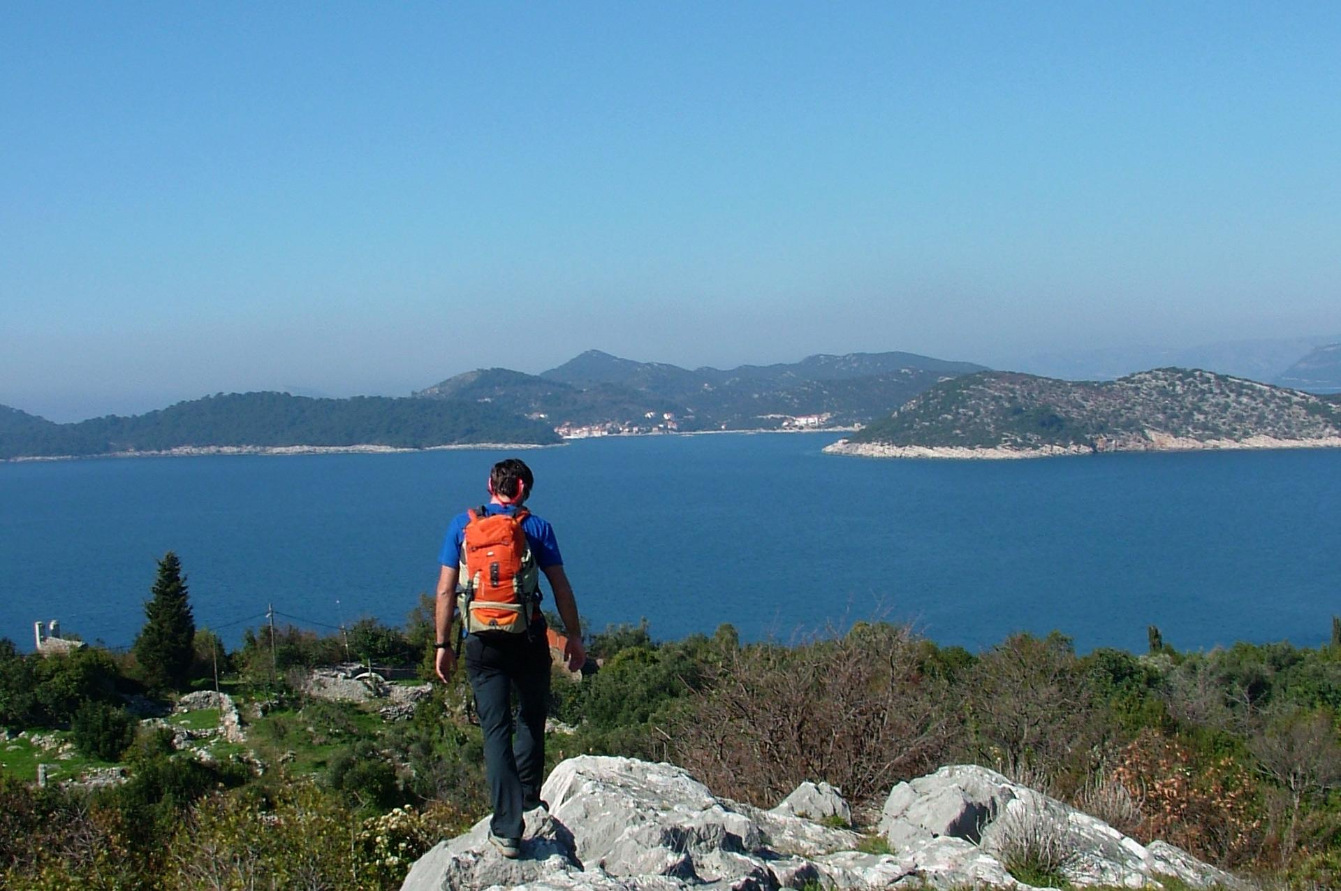 Lopud hiking Croatia 7