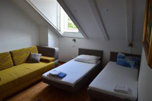 Lopud villa bedroom