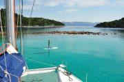 Mljet SUP and sailing