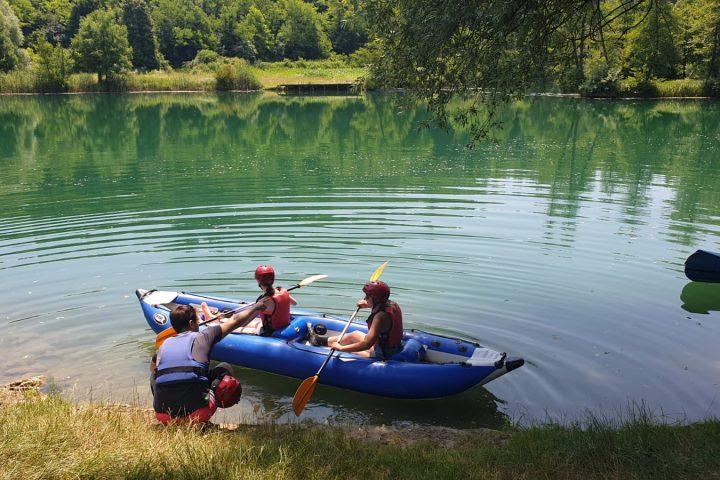 Mreznica kayaking