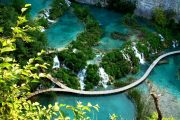Plitvice Lakes National Park walking trip 001