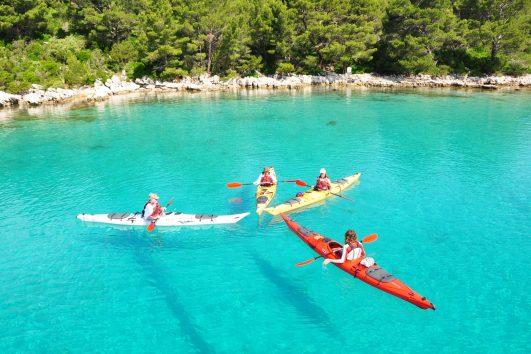 Sail and kayak Croatia