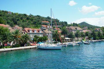 Sipanska Luka sailboat
