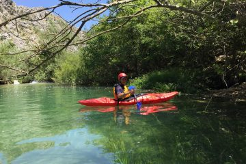 Zrmanja kayaking