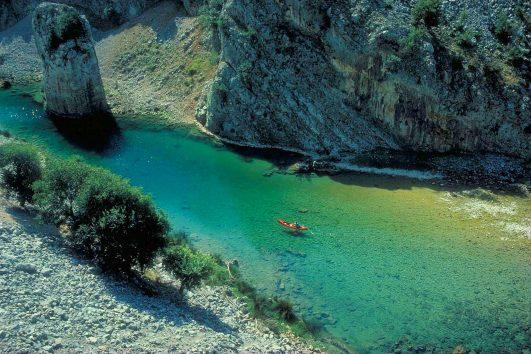 Zrmanja river kayaking 001