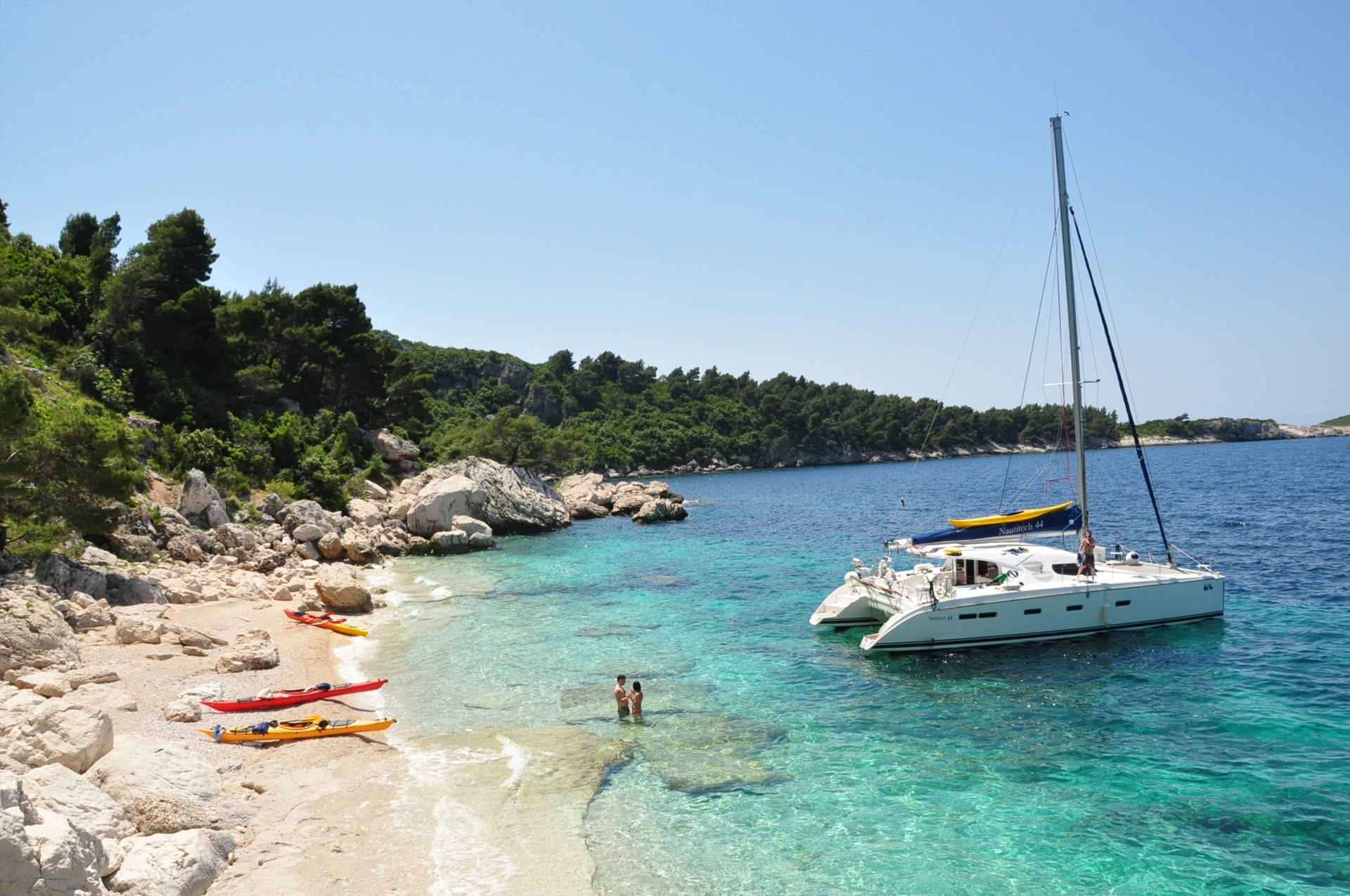 Custom trips in Croatia Huck Finn
