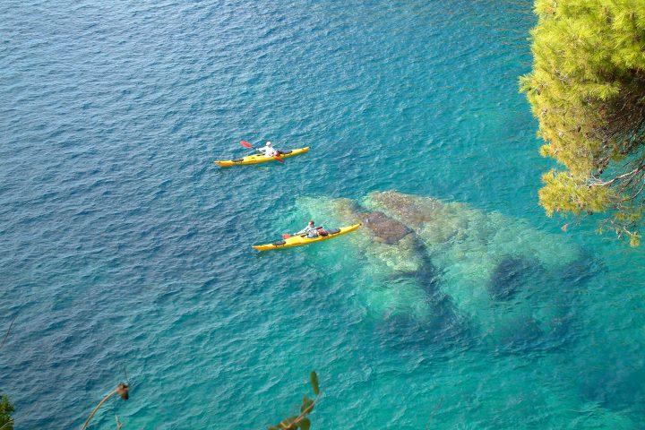 sea kayaking trip cover