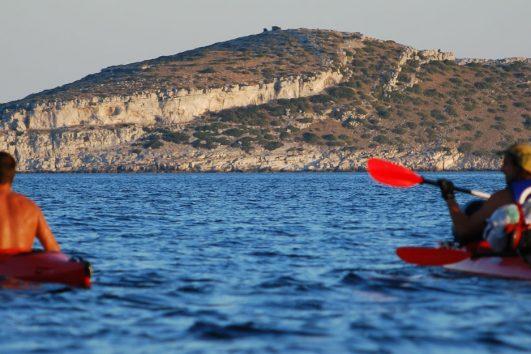 Sea kayaking adventure