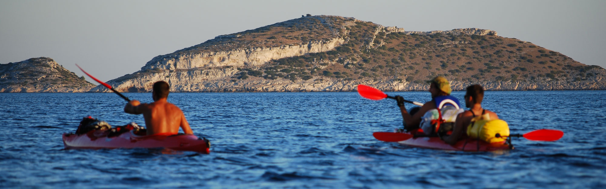 Sea kayaking adventure