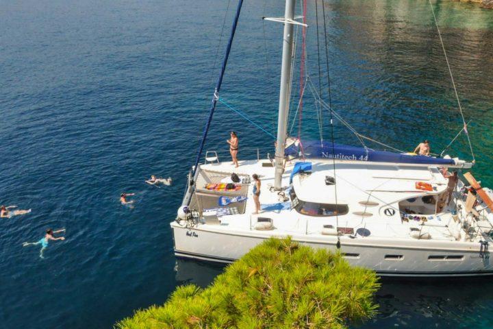 Catamaran Sailing Croatia