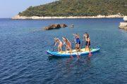 Group SUP in Croatia