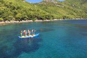 SUP on the sea in Croatia
