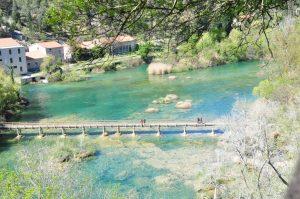 National park Krka bridge
