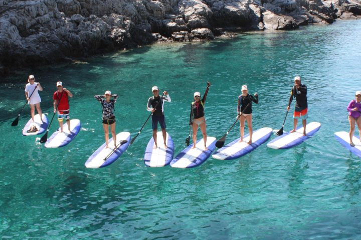 SUP in Croatian sea