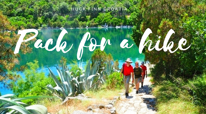 What to pack for a hike in Croatia