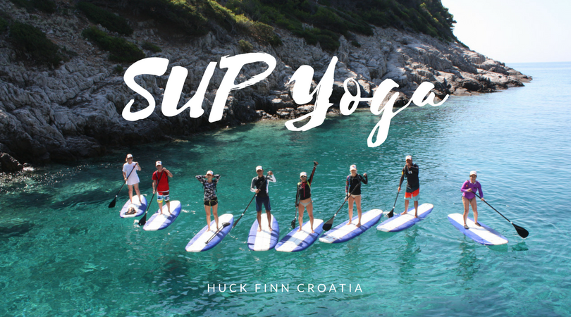 SUP yoga in Croatia