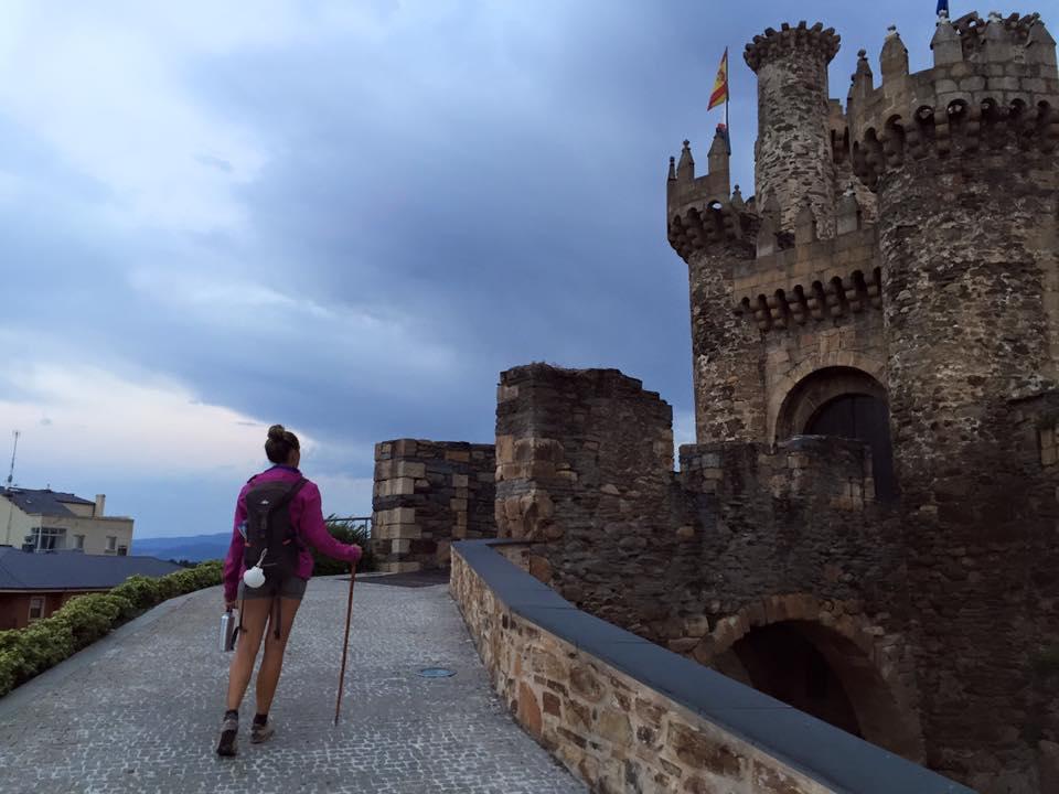 castle, camino de santiago