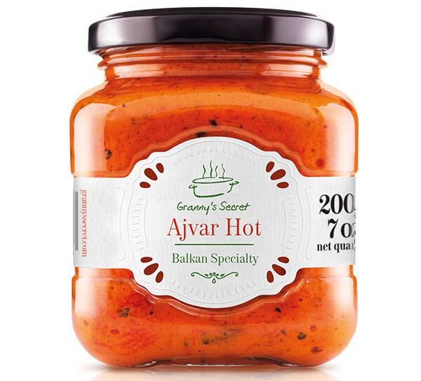 Croatian hot ajvar