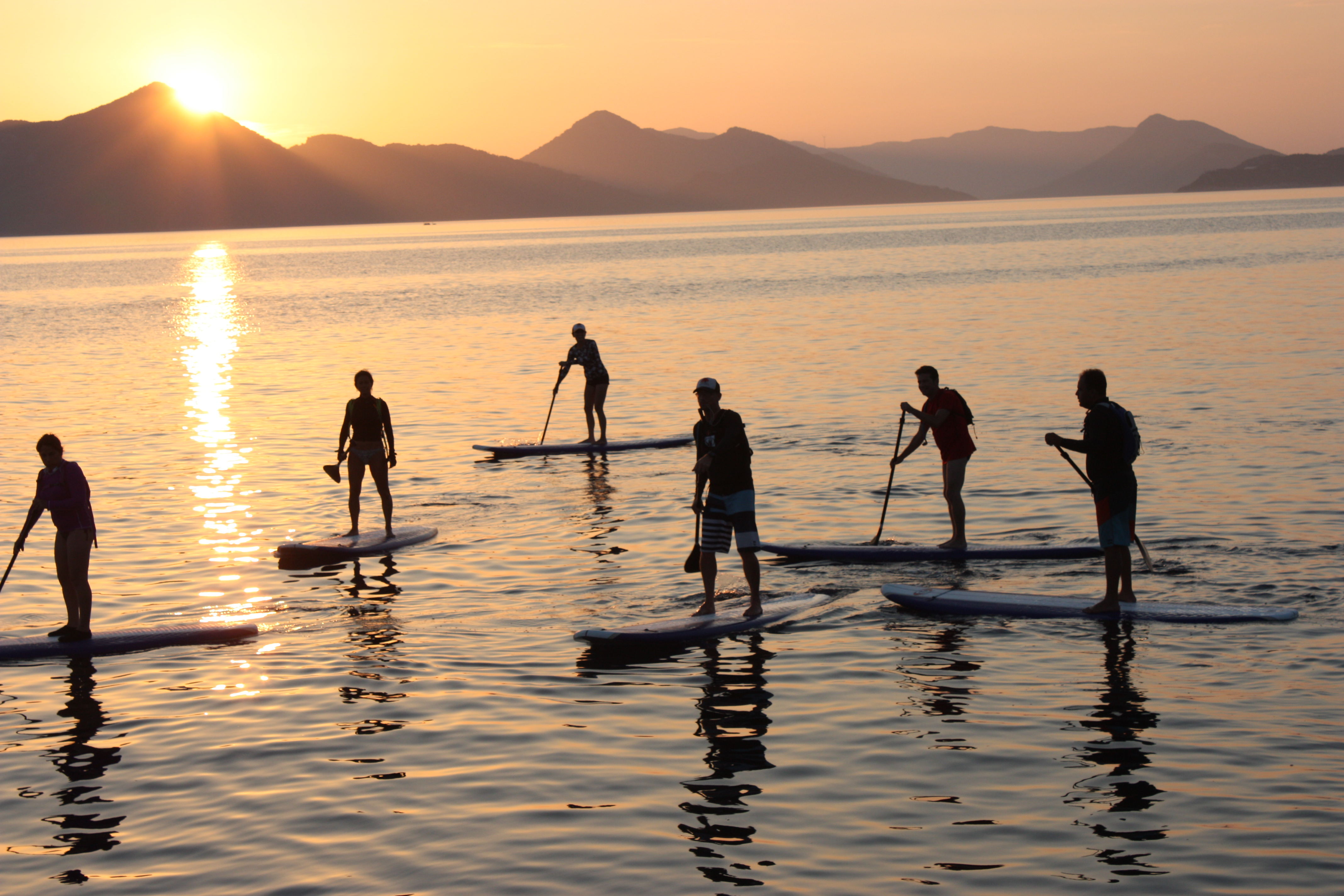 paddling SUP Croatia