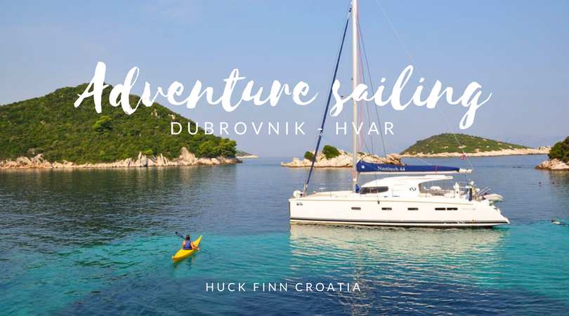 Adventure sailing Dubrovnik Hvar