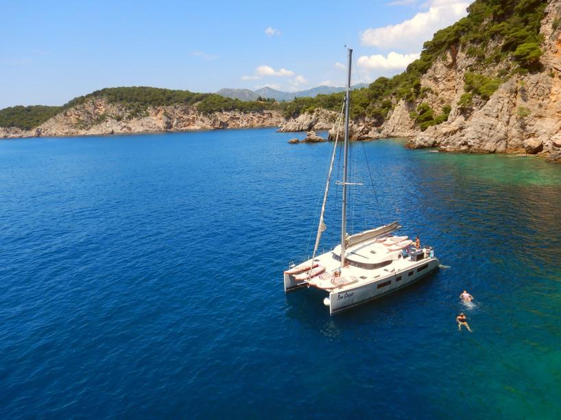 Sailing Kornati Croatia