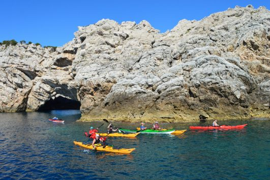 Sea Kayaking Sailing