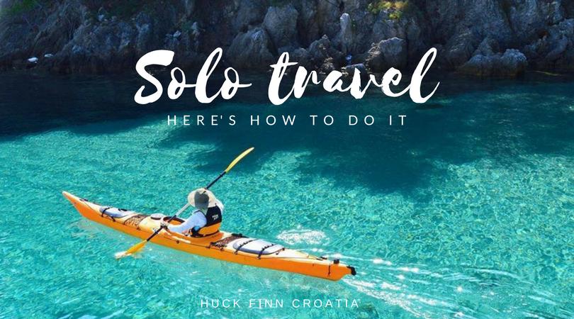 solo travel Croatia