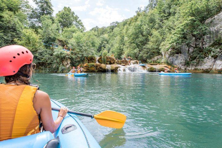 Mreznica River Kayaking