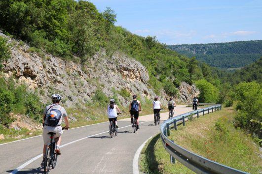 Plitvice Area Cycling