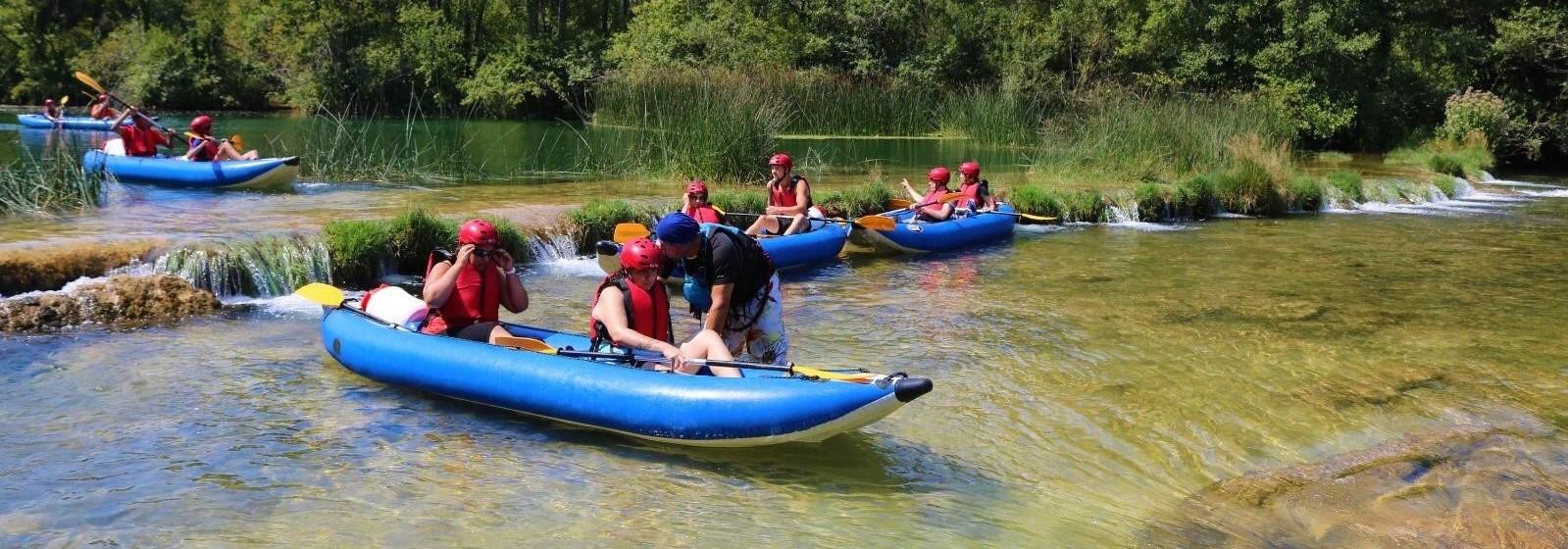 Plitvice Lakes and Kayak Break