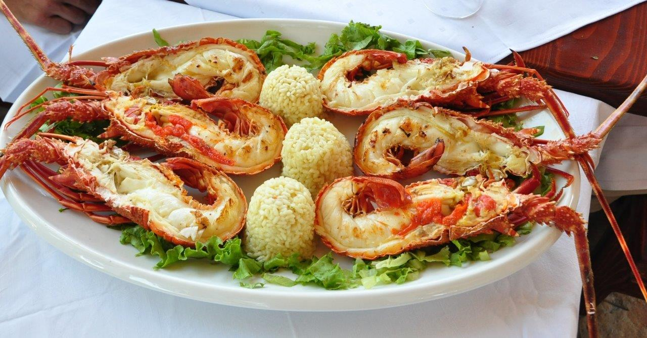 Croatian seafood traditional meals