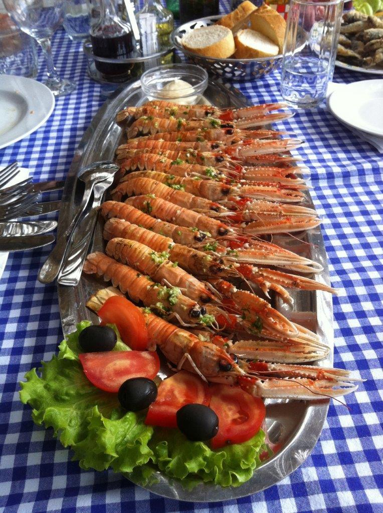 Shrimp Croatian cuisine seafood traditional