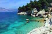 Peljesac beach SUP
