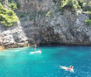 Kolocep-Blue-Cave-SUP-and-swimming